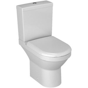 Vitra S50 Compact Close Coupled Toilet with Soft Close Seat