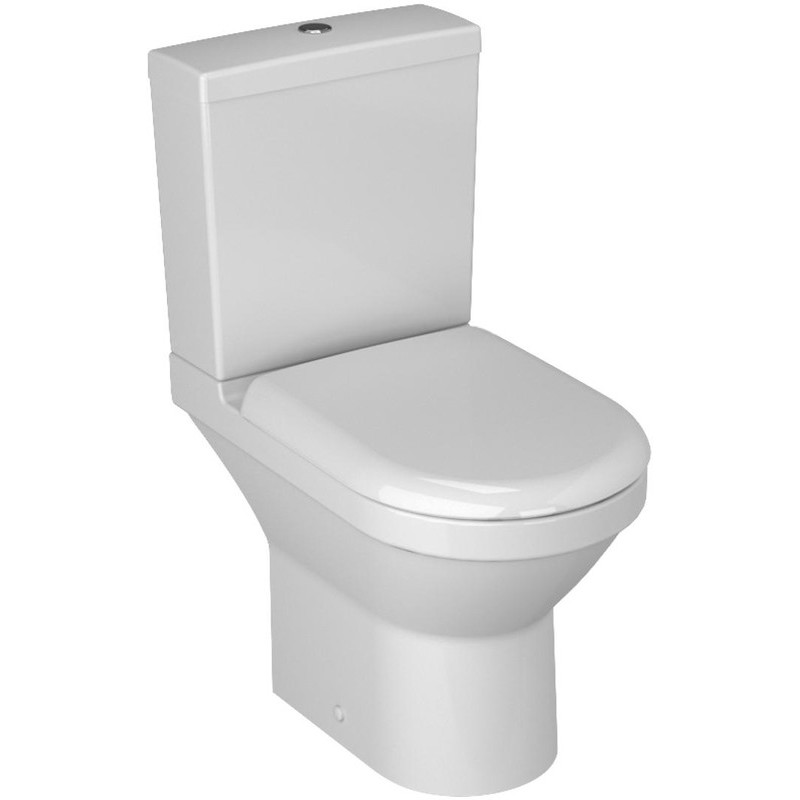 Vitra S50 Compact Close Coupled WC Pan White Open Back