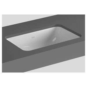 Vitra S20 Compact Under-Counter Basin 43cm Square No Taphole