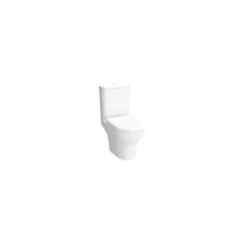 Vitra Zentrum Close-Coupled WC Pan Open-Back Rim-Ex