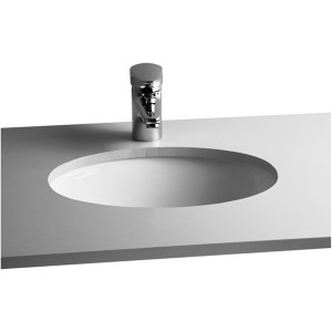 Vitra S20 Compact Under-Counter Basin 42cm Oval No Taphole