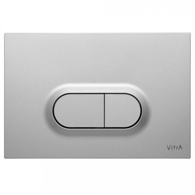 Vitra Loop O Control Panel WC Flush Plate Anti-Fingerprint