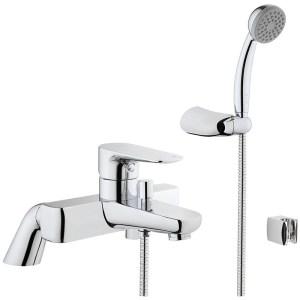 Vitra X-Line Bath Shower Mixer with Handshower