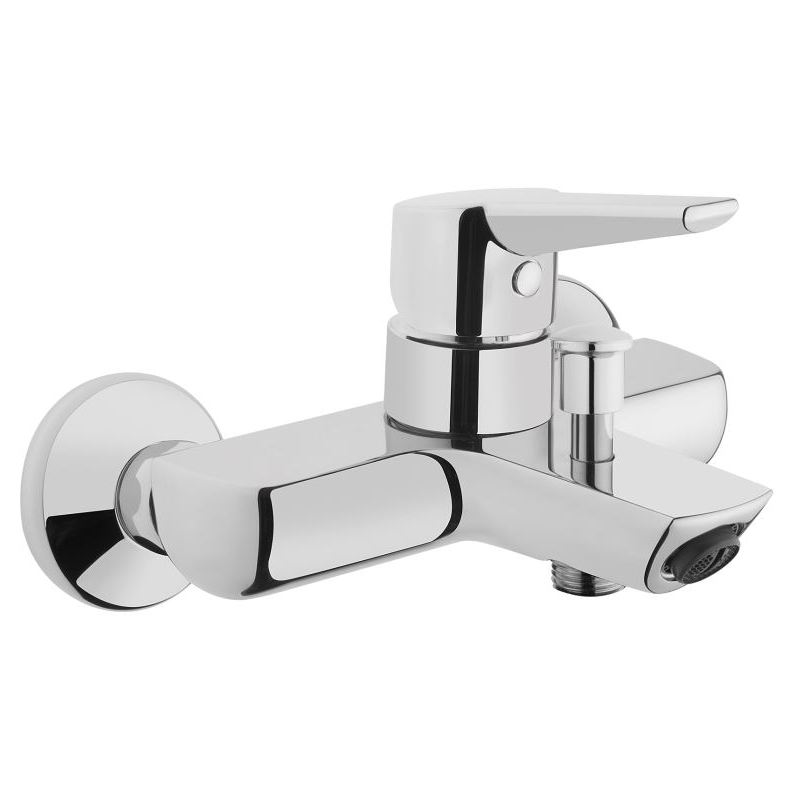 Vitra Solid S Wall Bath/Shower Mixer