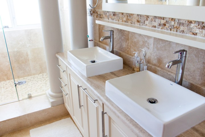 Bathroom sink renovation