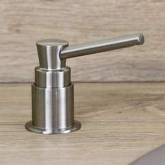 Soap Dispenser Kitchen Best Stainless Steel Sinks Astini Brushed Nickel 270ml Integrated Sink