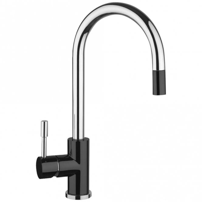 kitchen taps island with pot rack astini giada brushed stainless steel black pullout rinser tap hk81