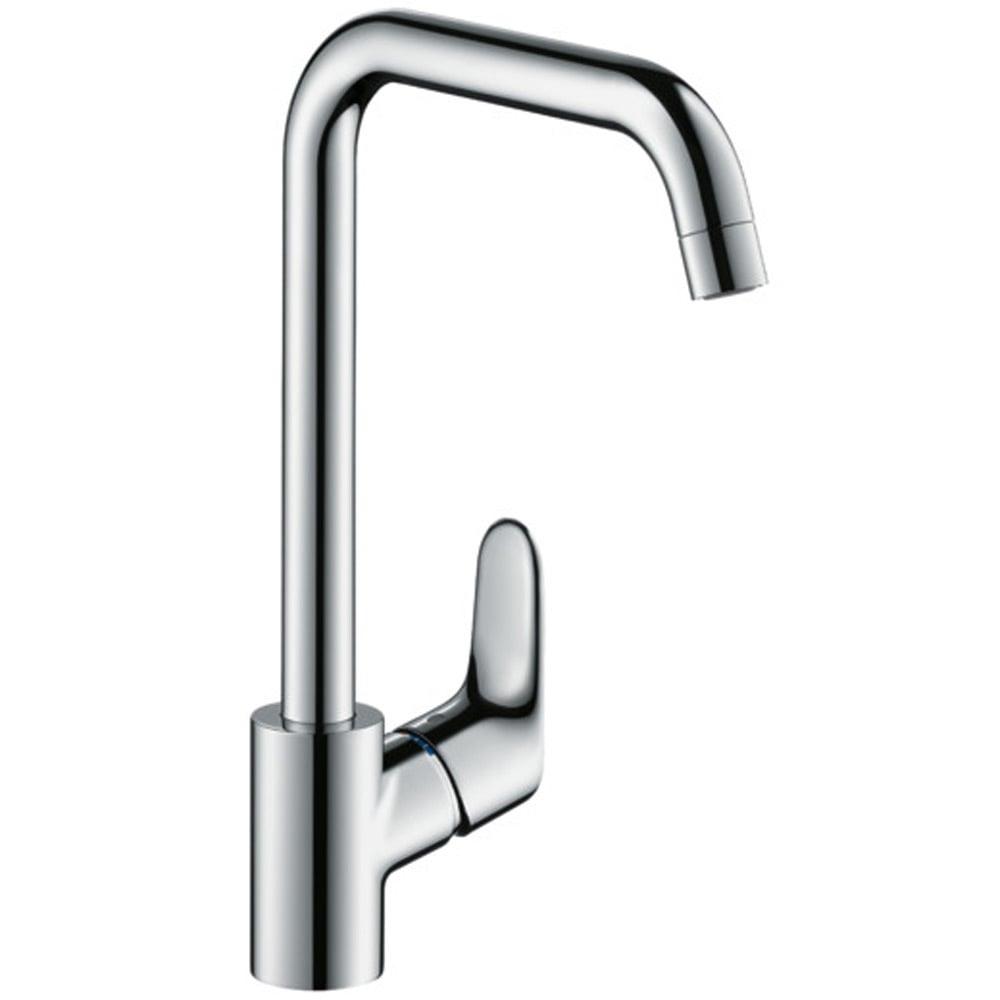 hansgrohe focus m41 chrome low pressure kitchen sink mixer tap 31822000