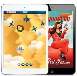 tapsquadron is a mouse enabled phone app for android and ios devices