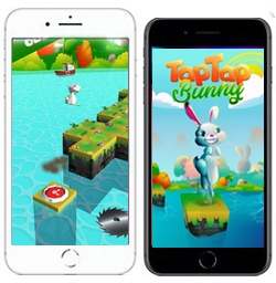 Taptapbunny is a challenging phone app for android and ios devices