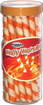 Waffy Wafer Roll Orange Cream Filled