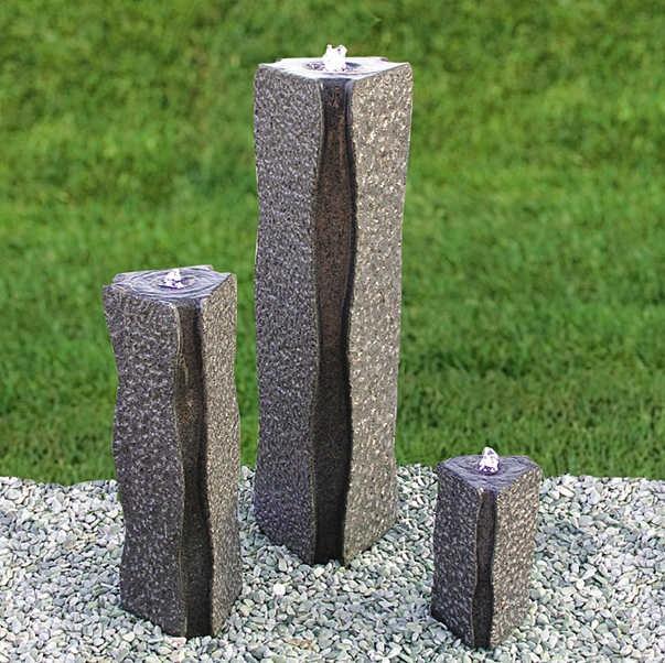 wasserspiel garten granit   moregs, Hause und garten