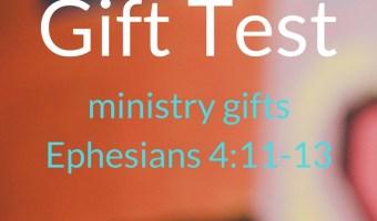 Spiritual Gifts-Ephesians 4