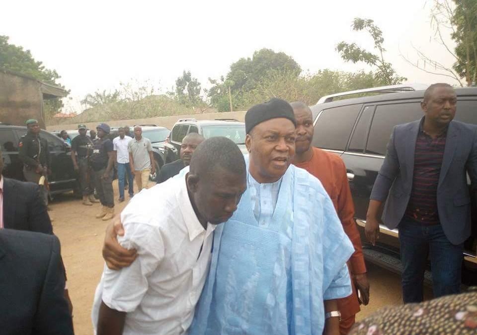 Gov. Ishaku Condoles Family of Late CAN Chairman Dr. Ben Ube