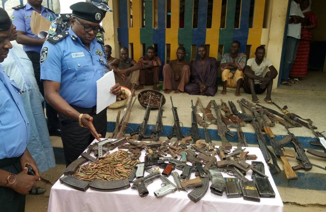 Security Breakthrough in Taraba, 54 Rifles, 300 Live Ammunition Recovered
