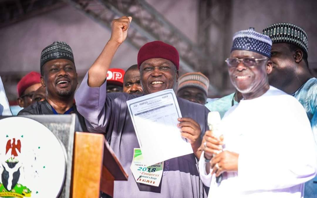 Governor Ishaku Emerges PDP 2019 Gubernatorial Candidate