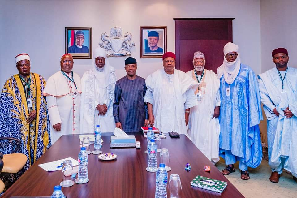 Fulani/Kona Conflict: Gov. Ishaku Meets with the Vice President; Promises to Set-up Committee