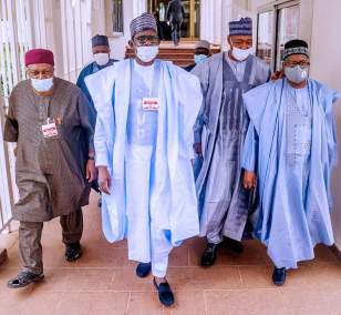Gov. Ishaku visits Buhari