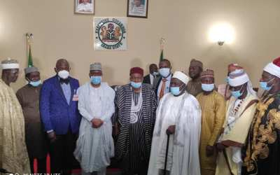 Ngada People visits Governor Ishaku.