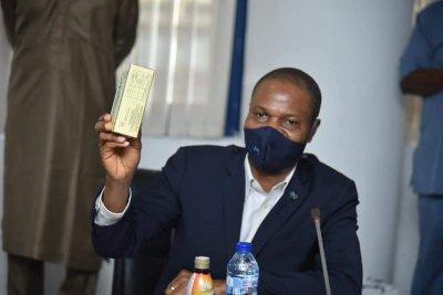Gov. Ishaku visits Nexim Bank