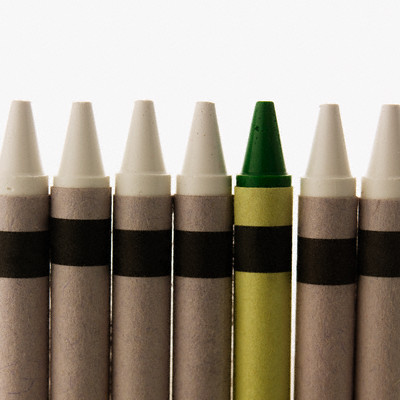 Different Crayon