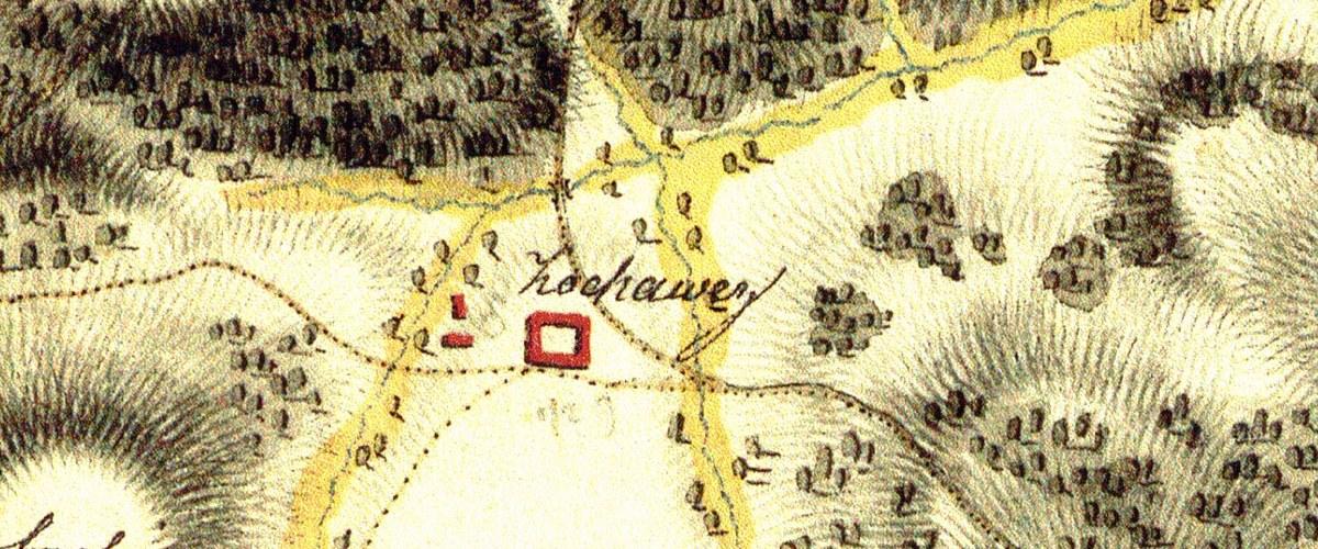Kochavec mapa