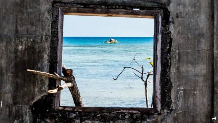 View from Gango community in Jomalig island
