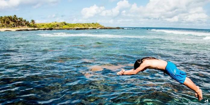 Jomalig island snorkeling