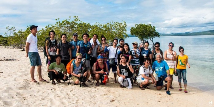 Travel companions in Alibijaban and Burias islands