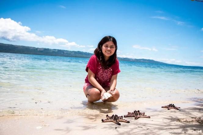 Shells in Alibijaban beach