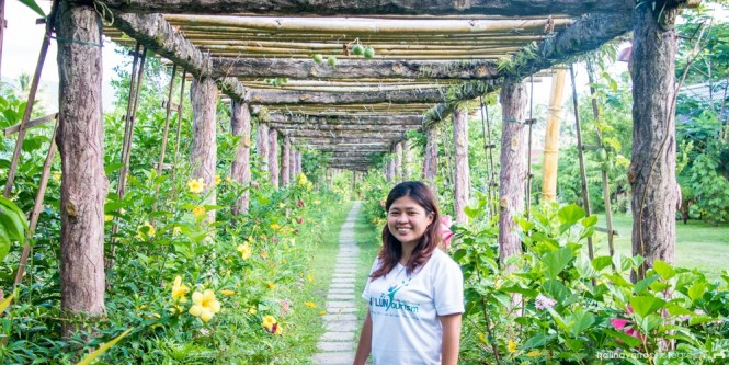 Walkway in Balay Buhay sa Uma Bee Farm, Sorsogon