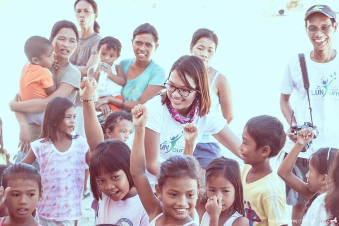 Games during Calintaan outreach in Sorsogon