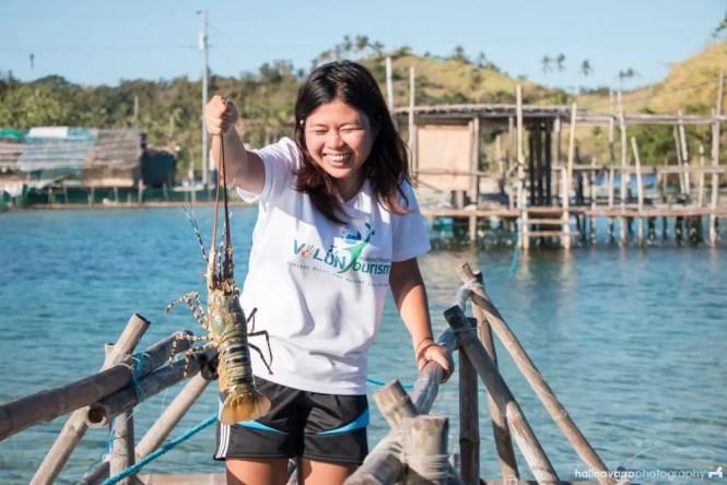 Lobster in Juag fish sanctuary