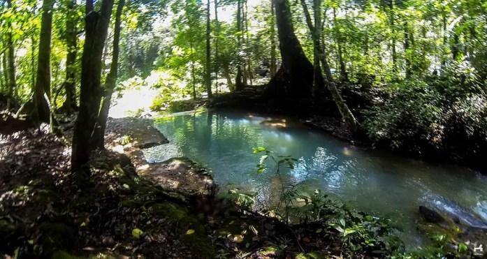 Abandoned pool near Batlag falls