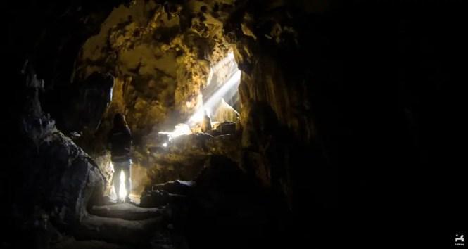 Calinawan cave in Tanay, Rizal