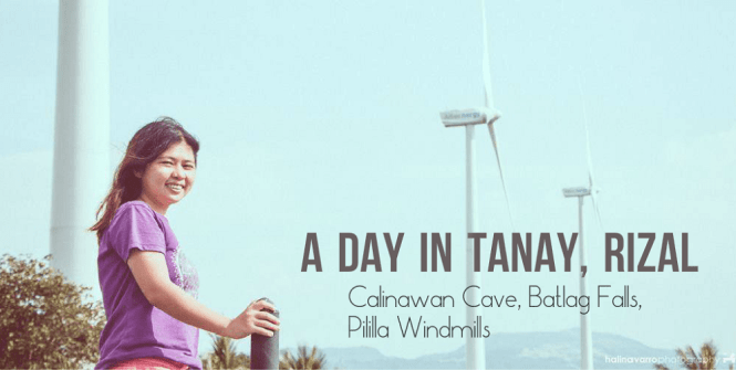 Pililla windmills in Rizal, included in Tanay Rizal day tour