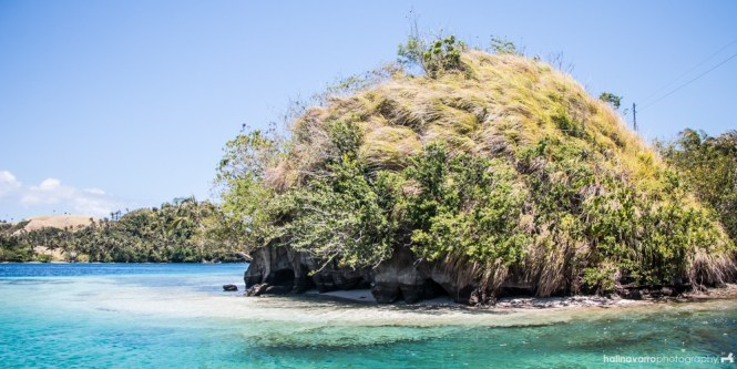 Islet in Juag's fish sanctuary, Sorsogon