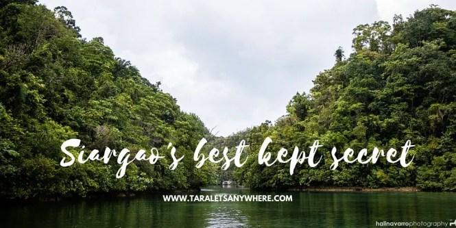 Sugba Lagoon and hidden beaches in del Carmen, Siargao