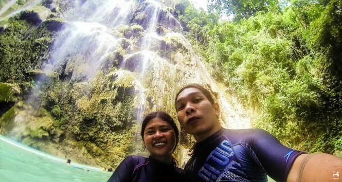 Tumalog Falls in Cebu
