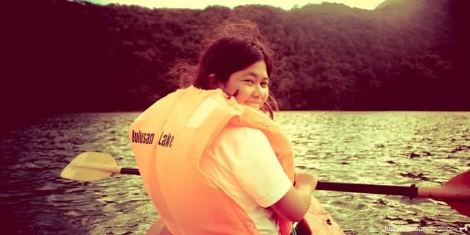 Kayaking in Bulusan Lake, Sorsogon