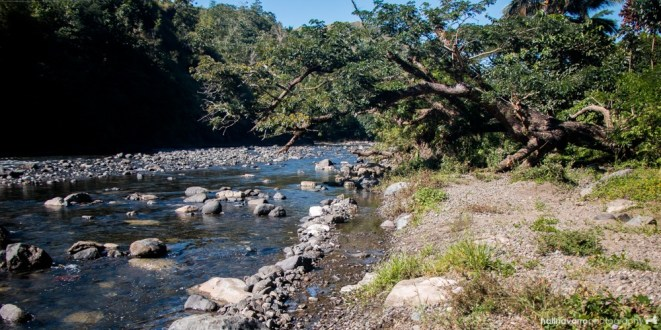 Tibiao river in Antique