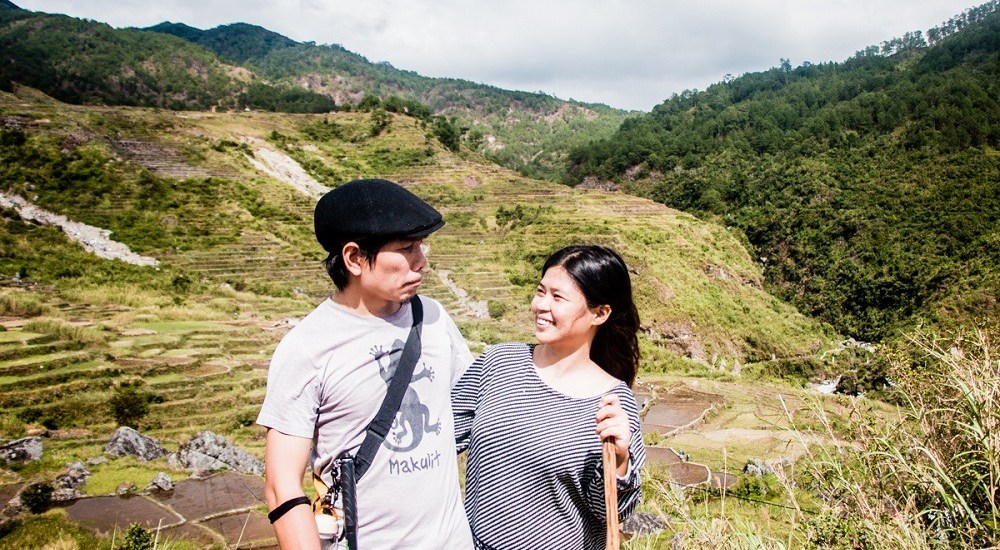 Aguid rice terraces in Sagada