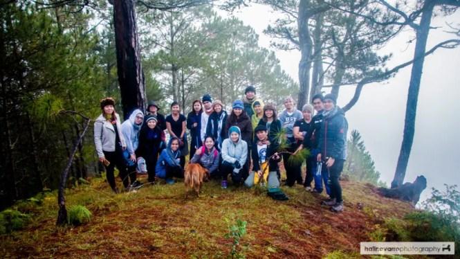 Group shot in Mount Kofafey
