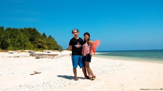 Camiaran Island in Balabac, Palawan