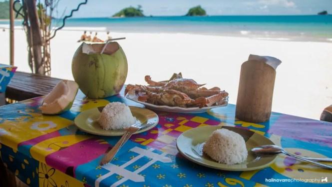 Prince restaurant in Nacpan Beach