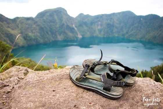 View deck of Lake Holon, South Cotabato
