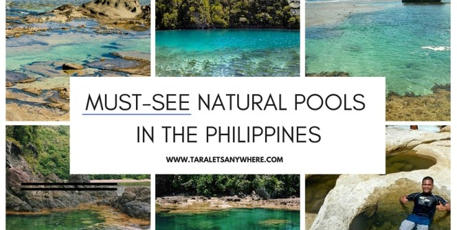 Natural pools in the Philippines feature