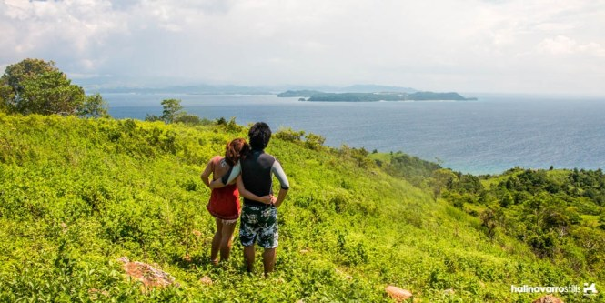 Carabao Island overlooking view