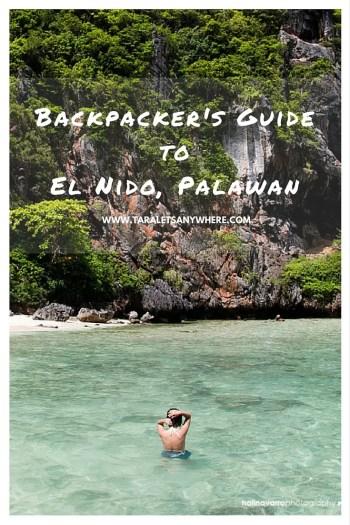 Budget travel guide to El Nido Palawan pinterest