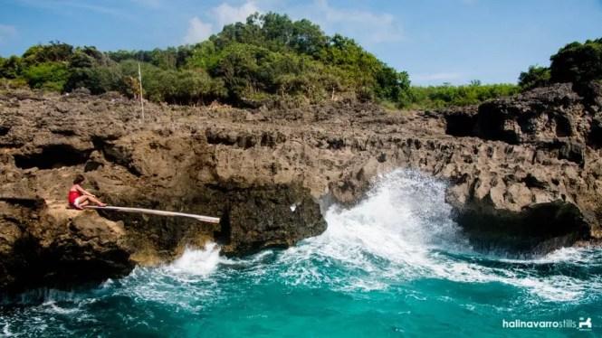 Koding-Koding Point cliff dive